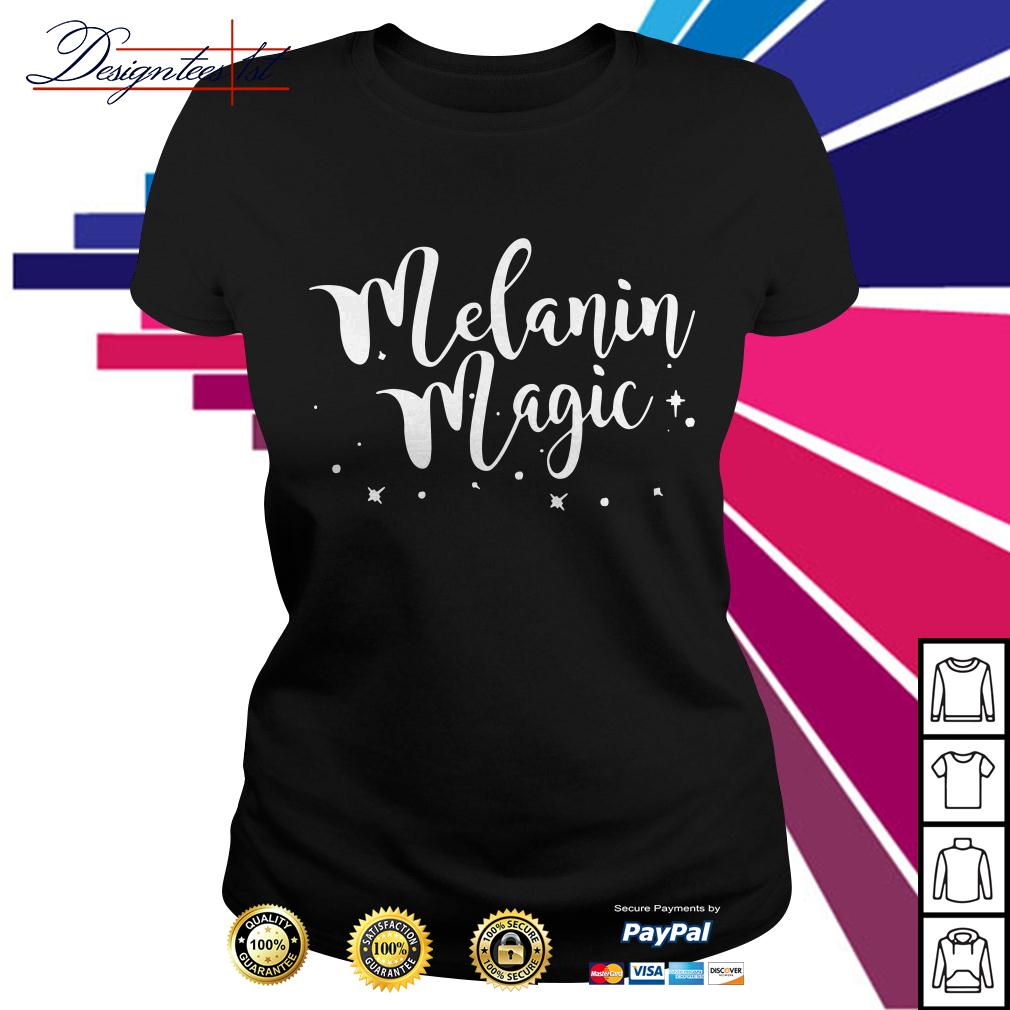 Melanin magic Ladies Tee