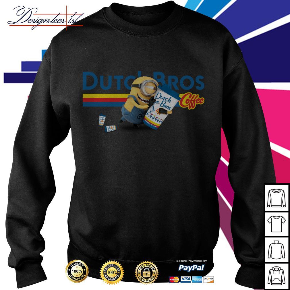 Minion drink Dutch Bros coffee Sweater