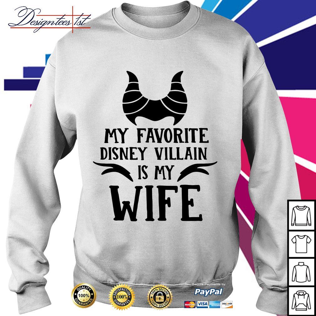 My favorite Disney Villain is my wife Sweater