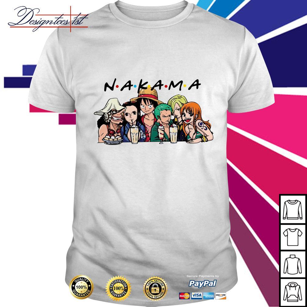 One Piece Nakama friends shirt