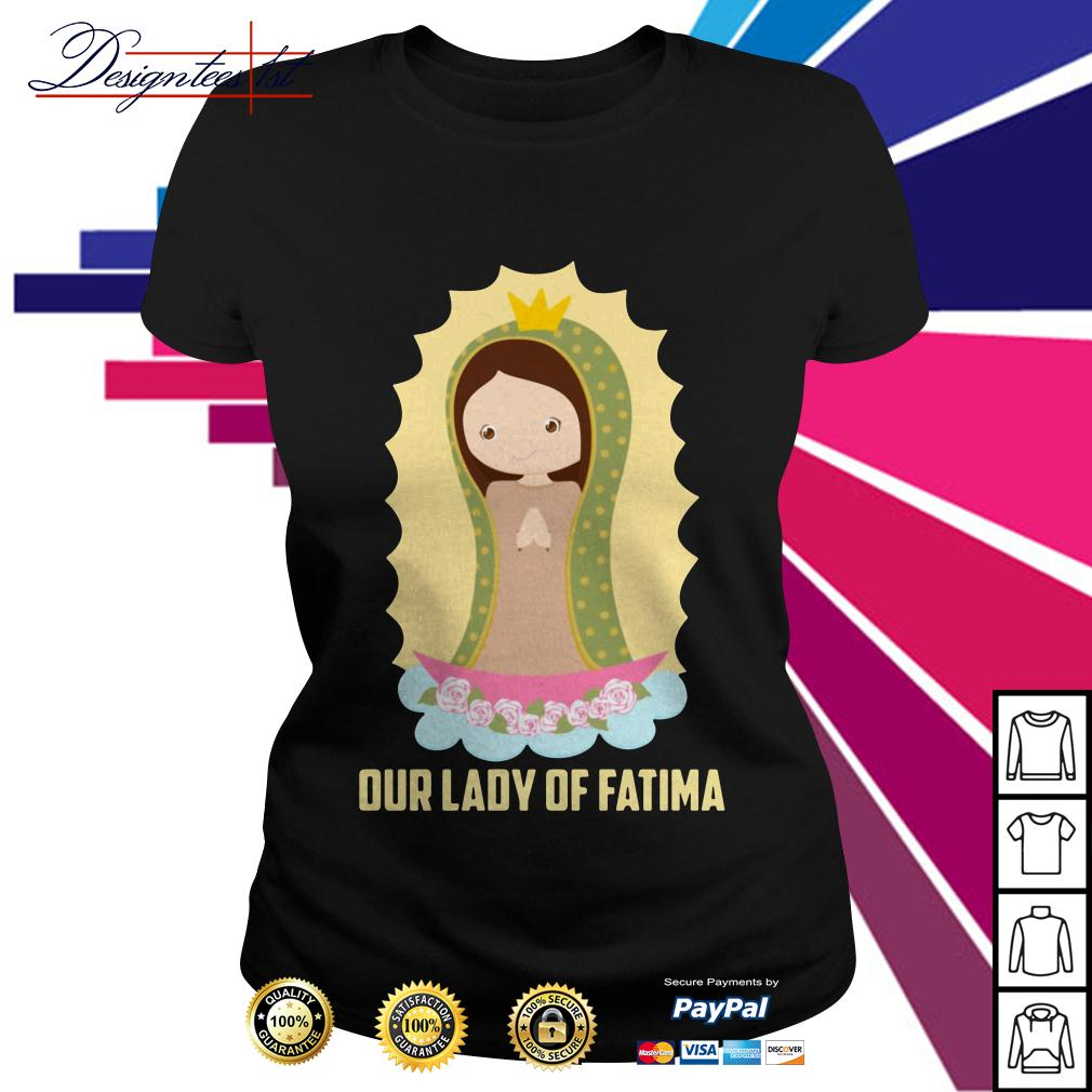 Our lady of Fatima Ladies Tee