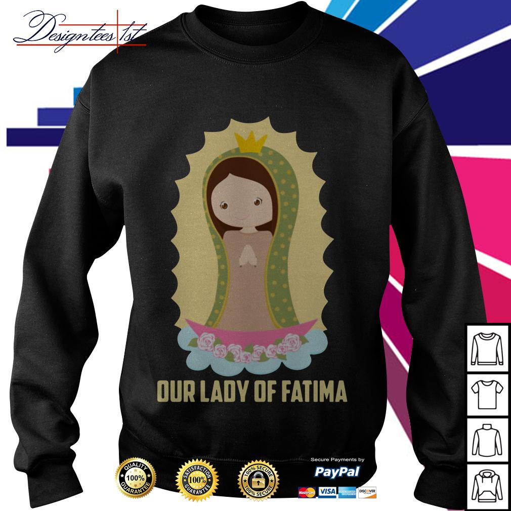 Our lady of Fatima Sweater