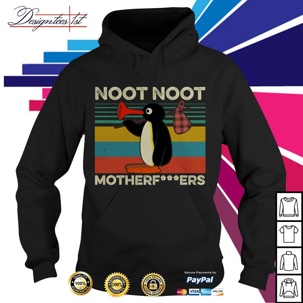 Pingu noot noot motherfers vintage Hoodie