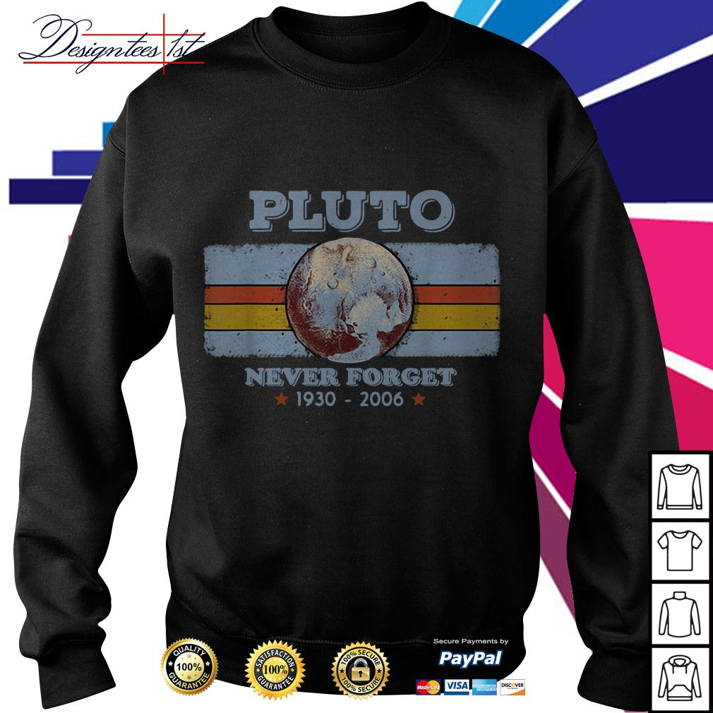 Planet Pluto never forget 1930-2006 Sweater