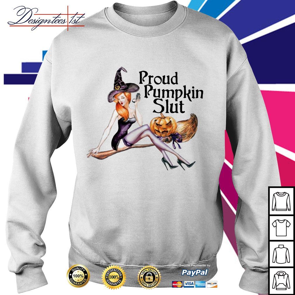 Proud pumpkin slut Sweater