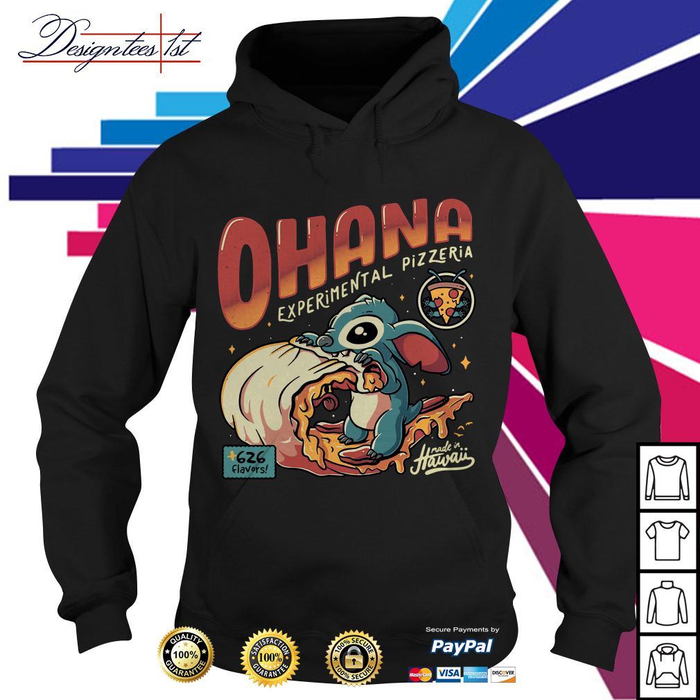 Stitch Ohana experimental pizzeria 626 flavors Hawaii Hoodie