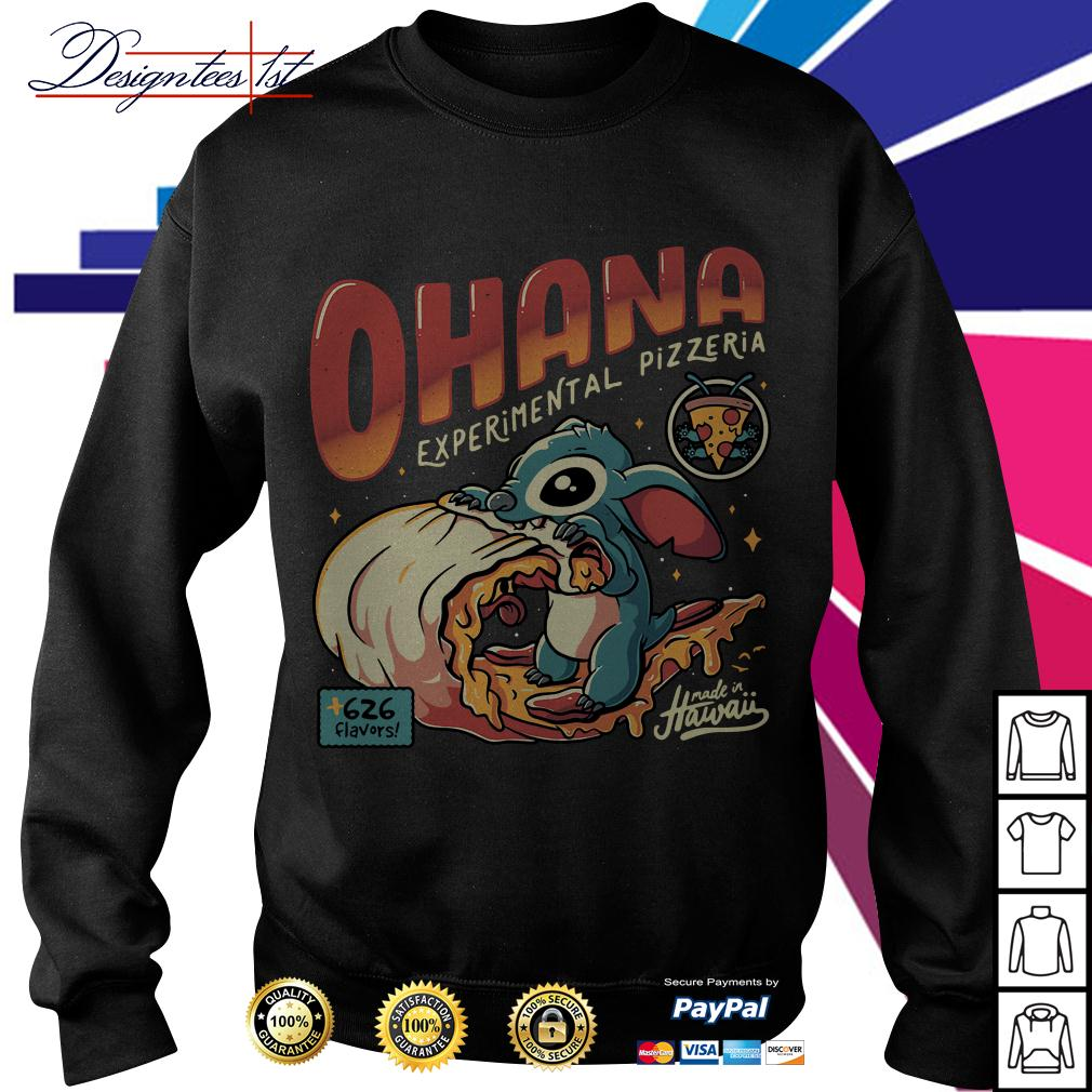 Stitch Ohana experimental pizzeria 626 flavors Hawaii Sweater