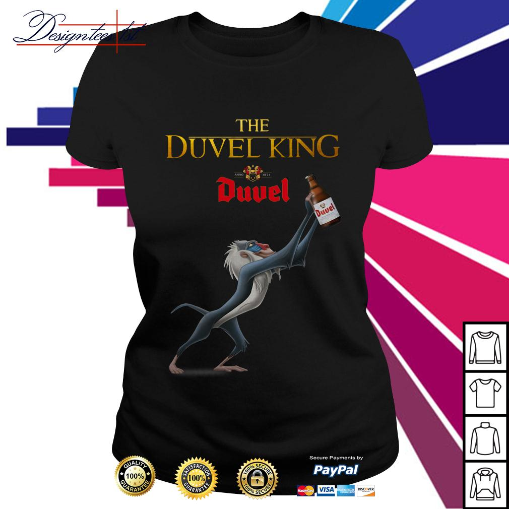 The Lion King The Duvel king Ladies Tee