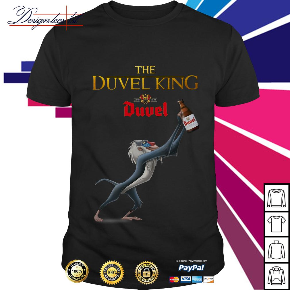 The Lion King The Duvel king shirt