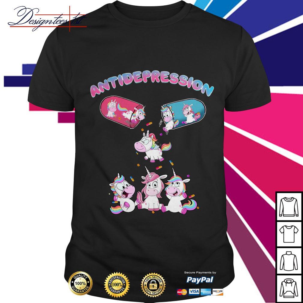 Unicorn antidepression shirt