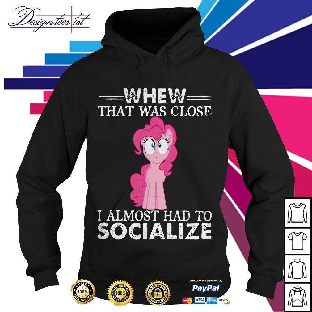 Unicorn whew that was close I almost had to socialize Hoodie