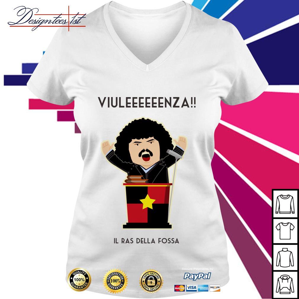 Abatantuono Viuleeeeeenza Il ras della fossa V-neck T-shirt