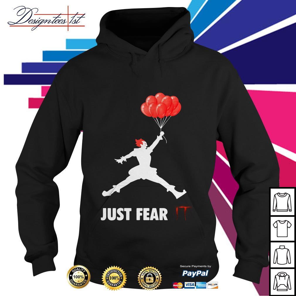 Air Jordan Pennywise just fear IT Hoodie