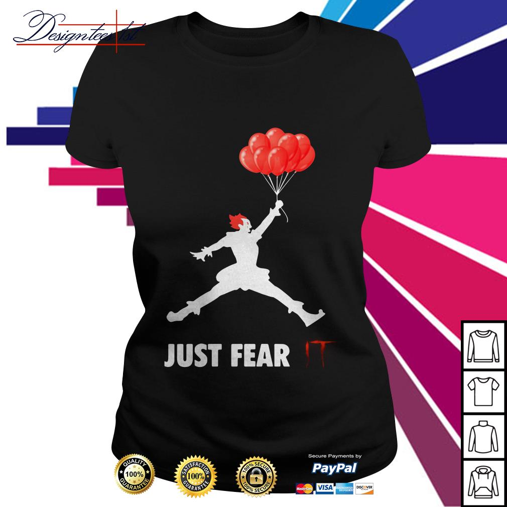 Air Jordan Pennywise just fear IT Ladies Tee