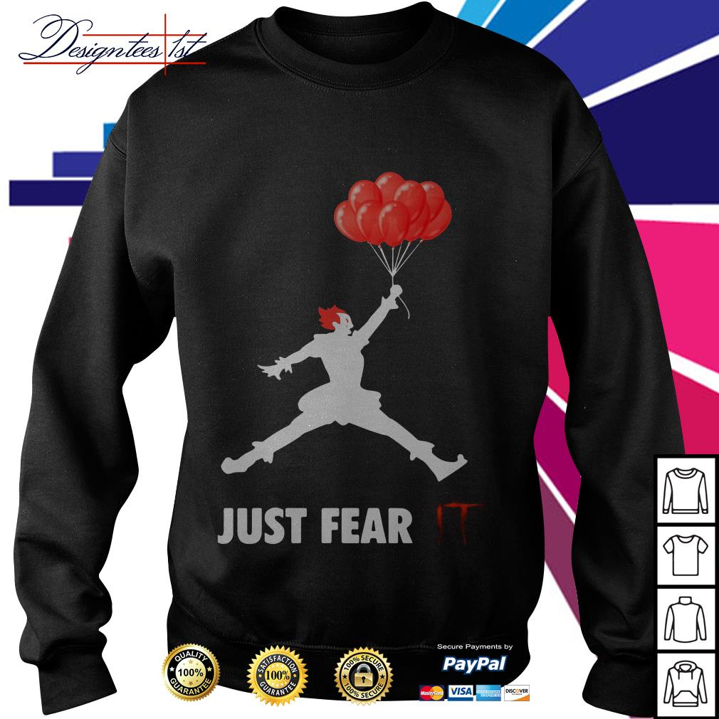 Air Jordan Pennywise just fear IT Sweater