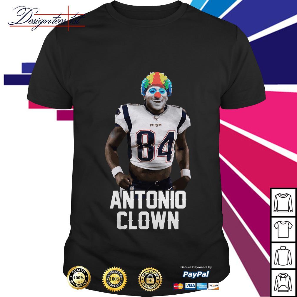 Antonio Brown clown shirt