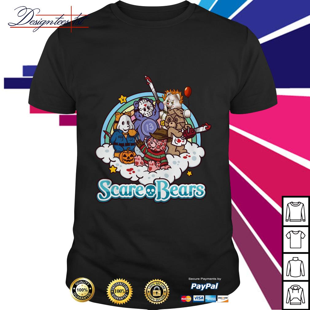 The Care Bears Horror character movie shirt