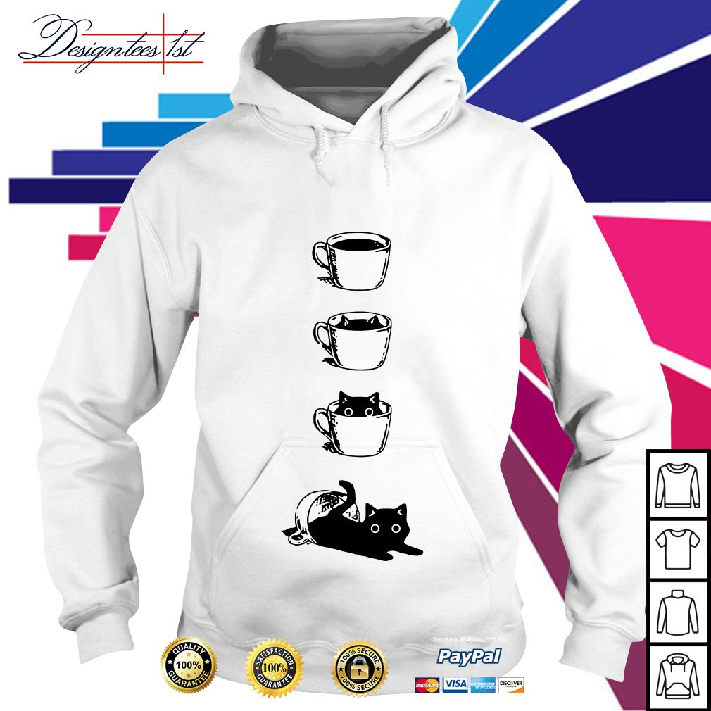 Cat in the cup Hoodie
