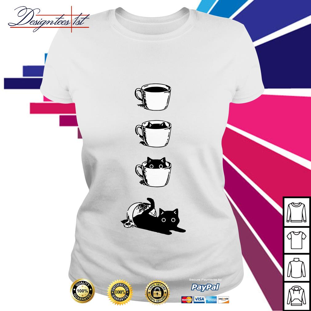 Cat in the cup Ladies Tee