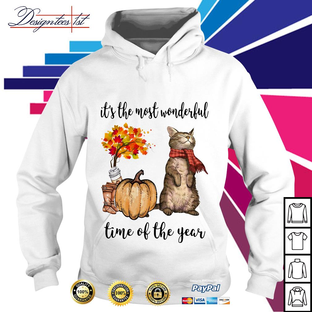 Cat it's the most wonderful time of the year Hoodie