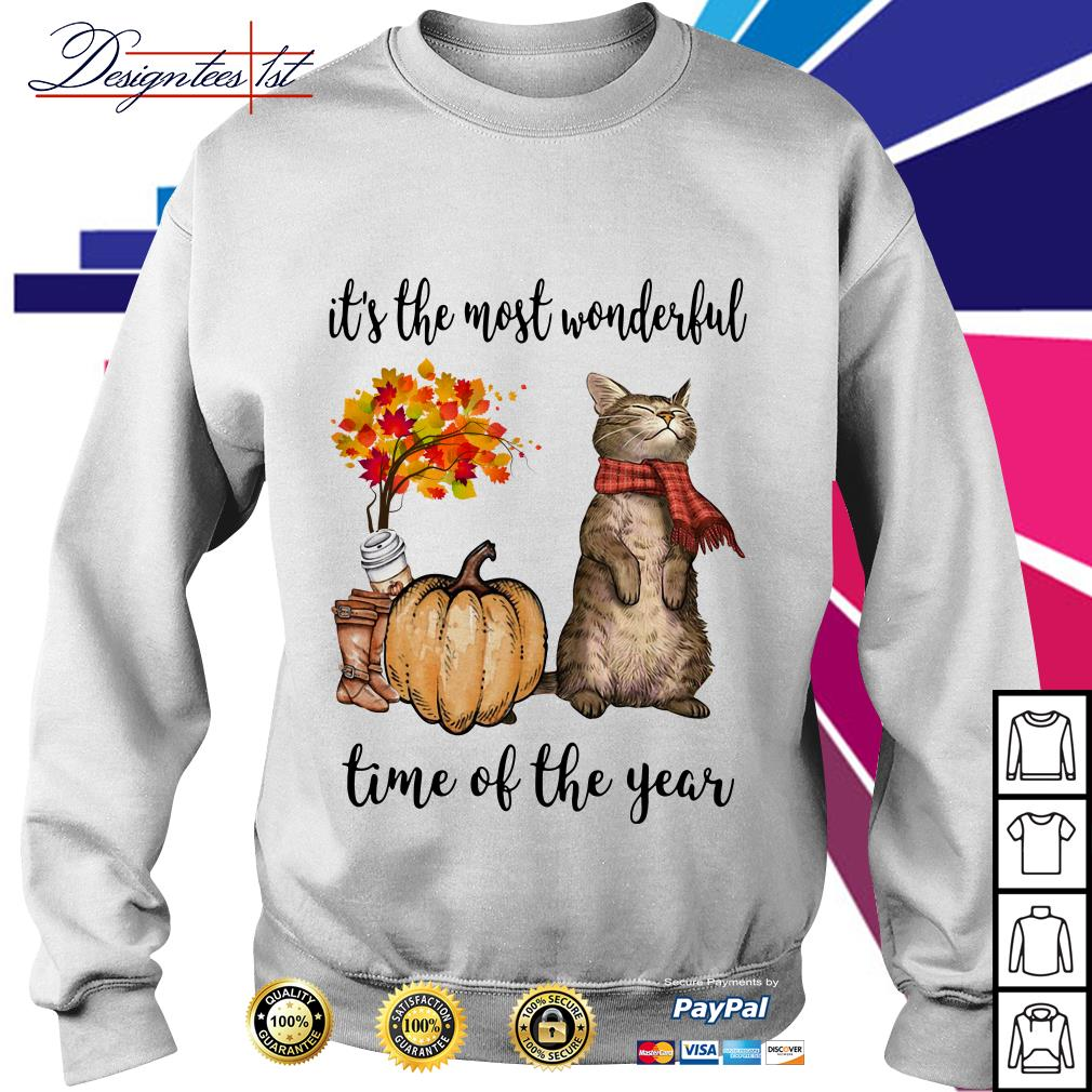 Cat it's the most wonderful time of the year Sweater