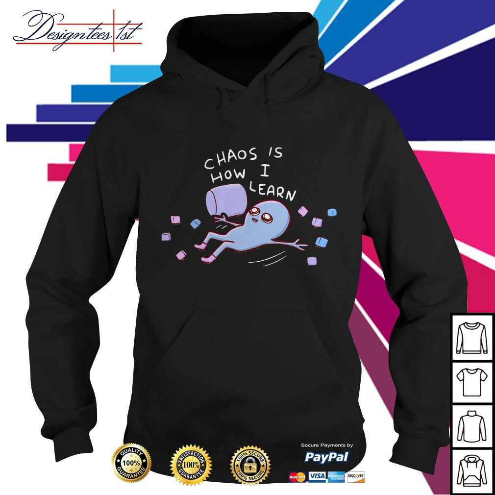 Chaos is how I learn Hoodie