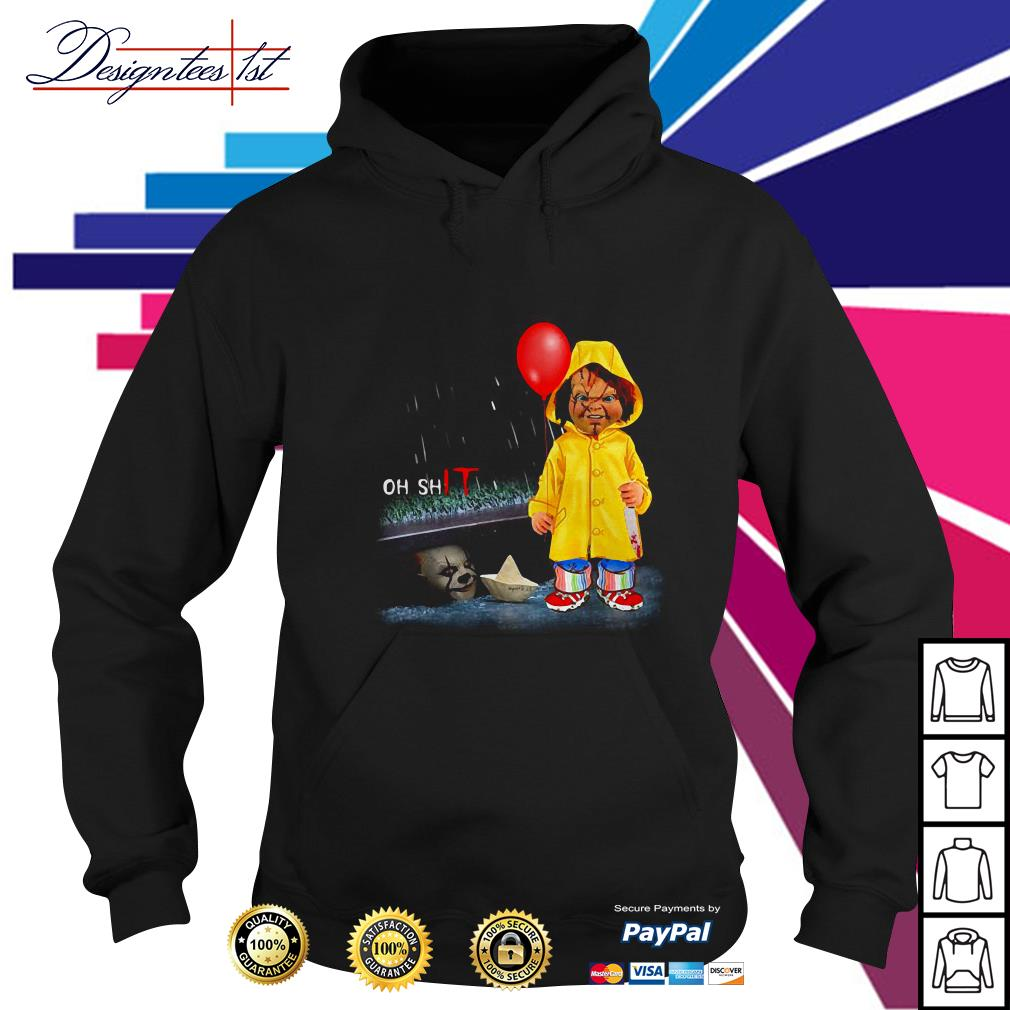 Chucky Georgie Denbrough oh shit IT Hoodie