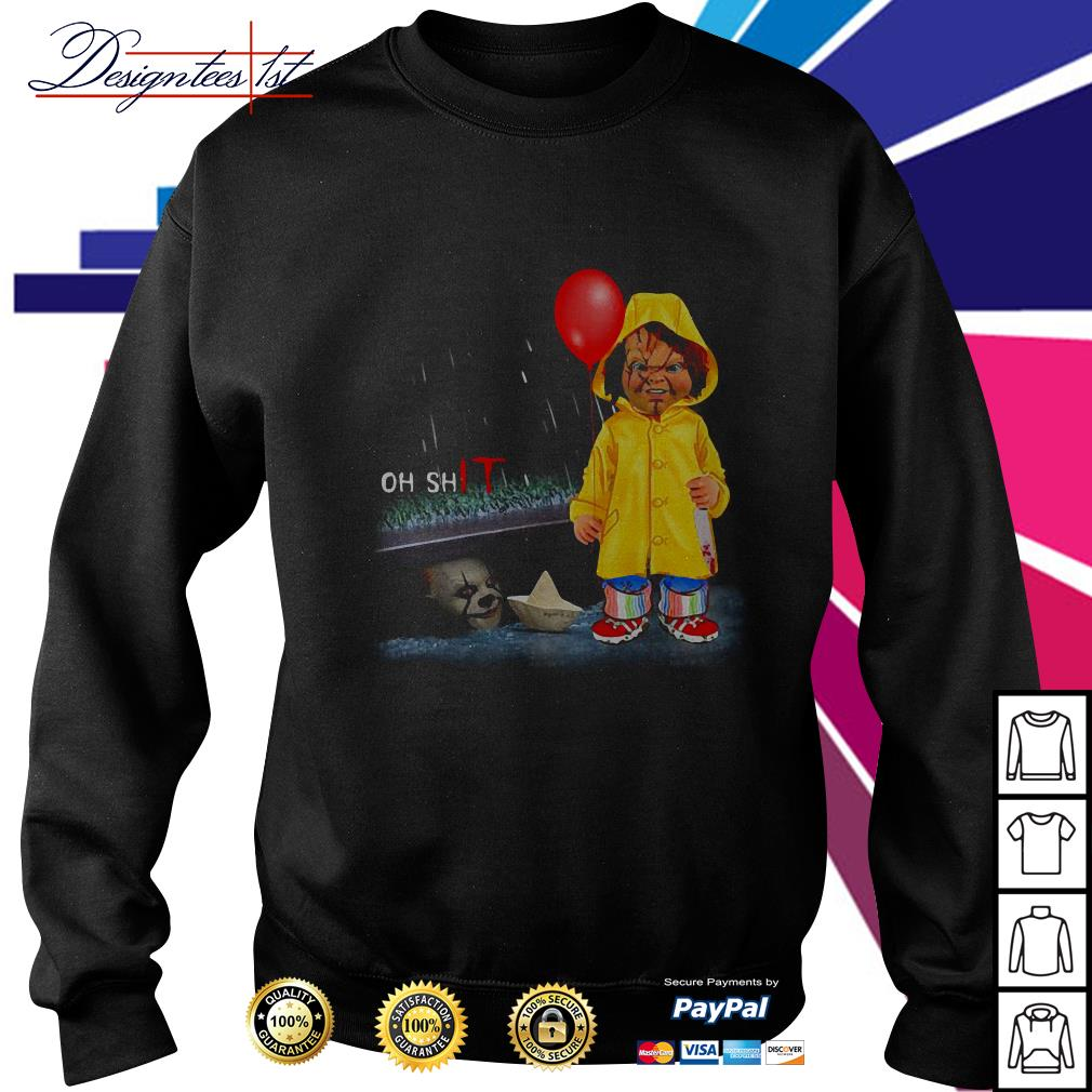 Chucky Georgie Denbrough oh shit IT Sweater