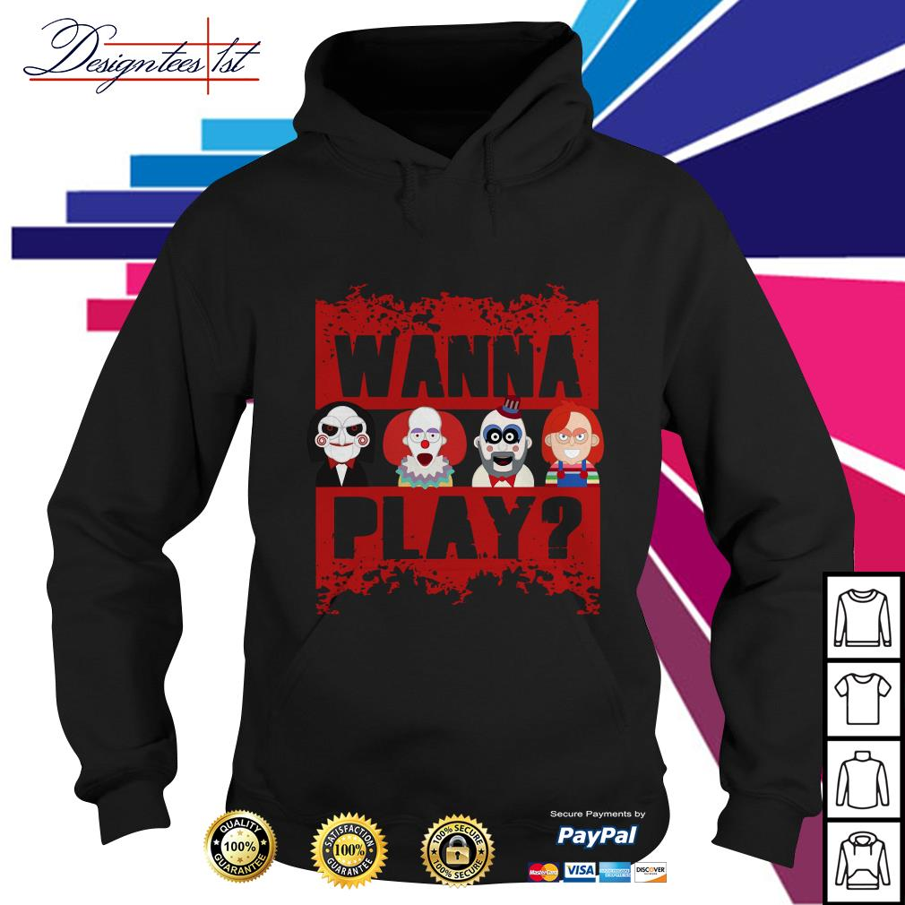 Chucky Horror wanna play Hoodie