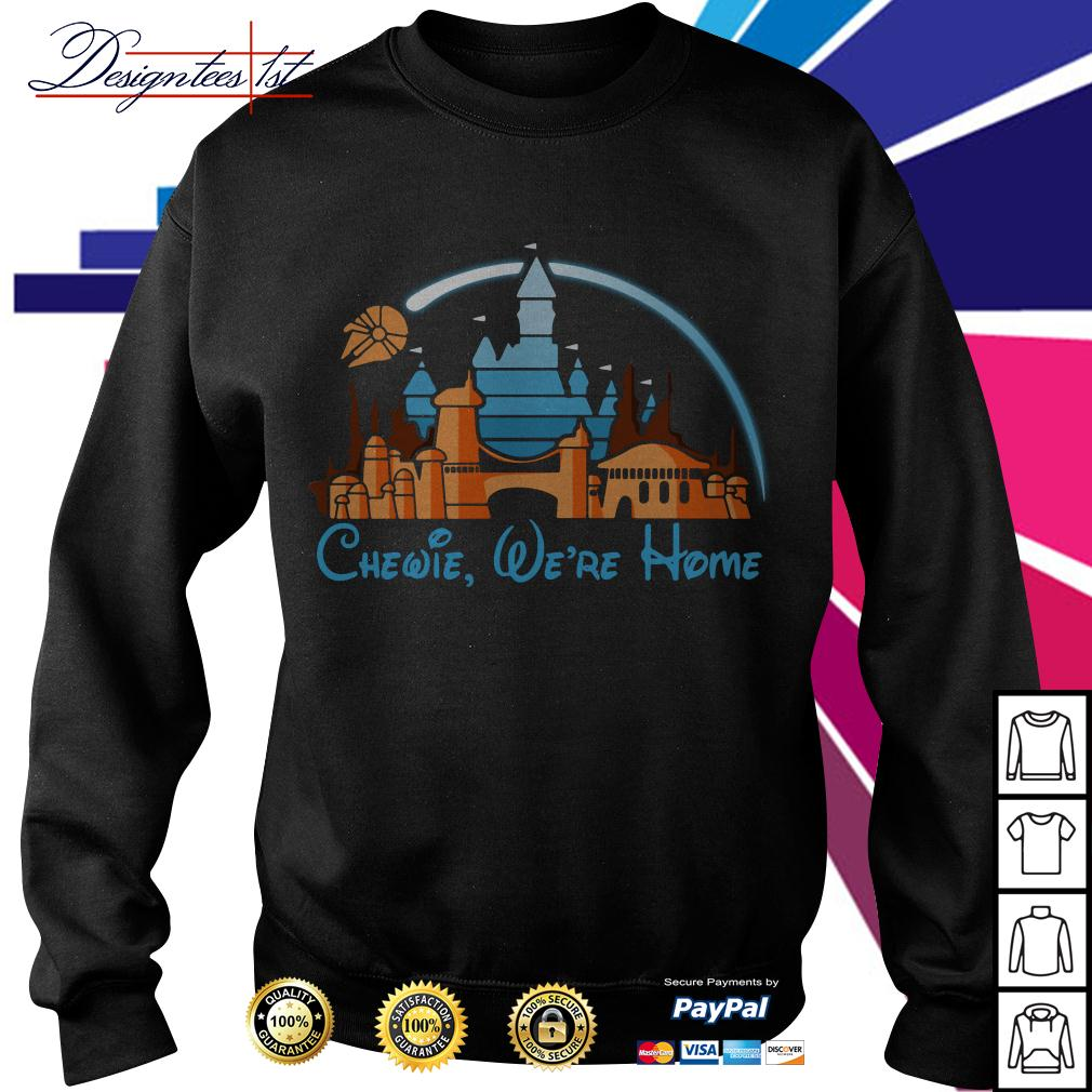 Disney Star Wars Chewie we're home Sweater