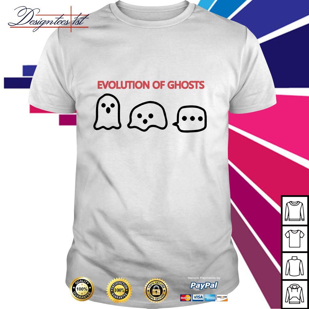 Evolution of ghosts shirt