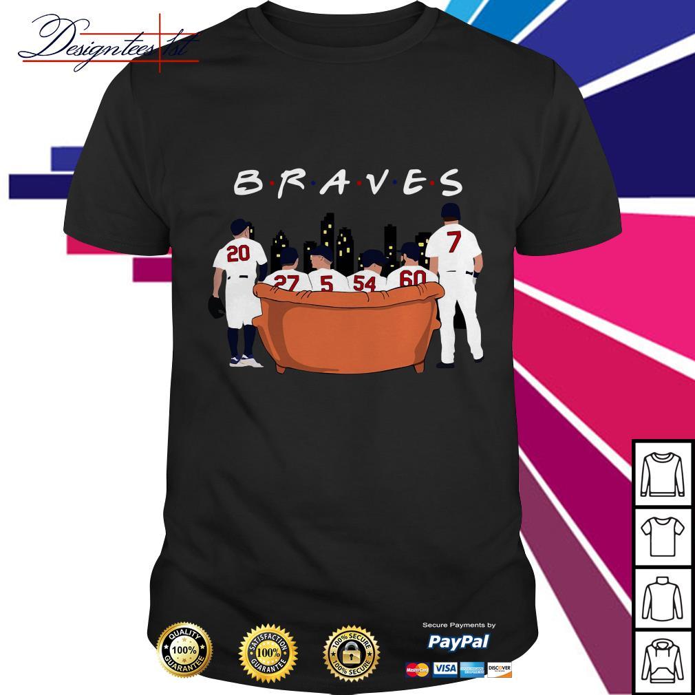 Friends TV show Atlanta Braves shirt