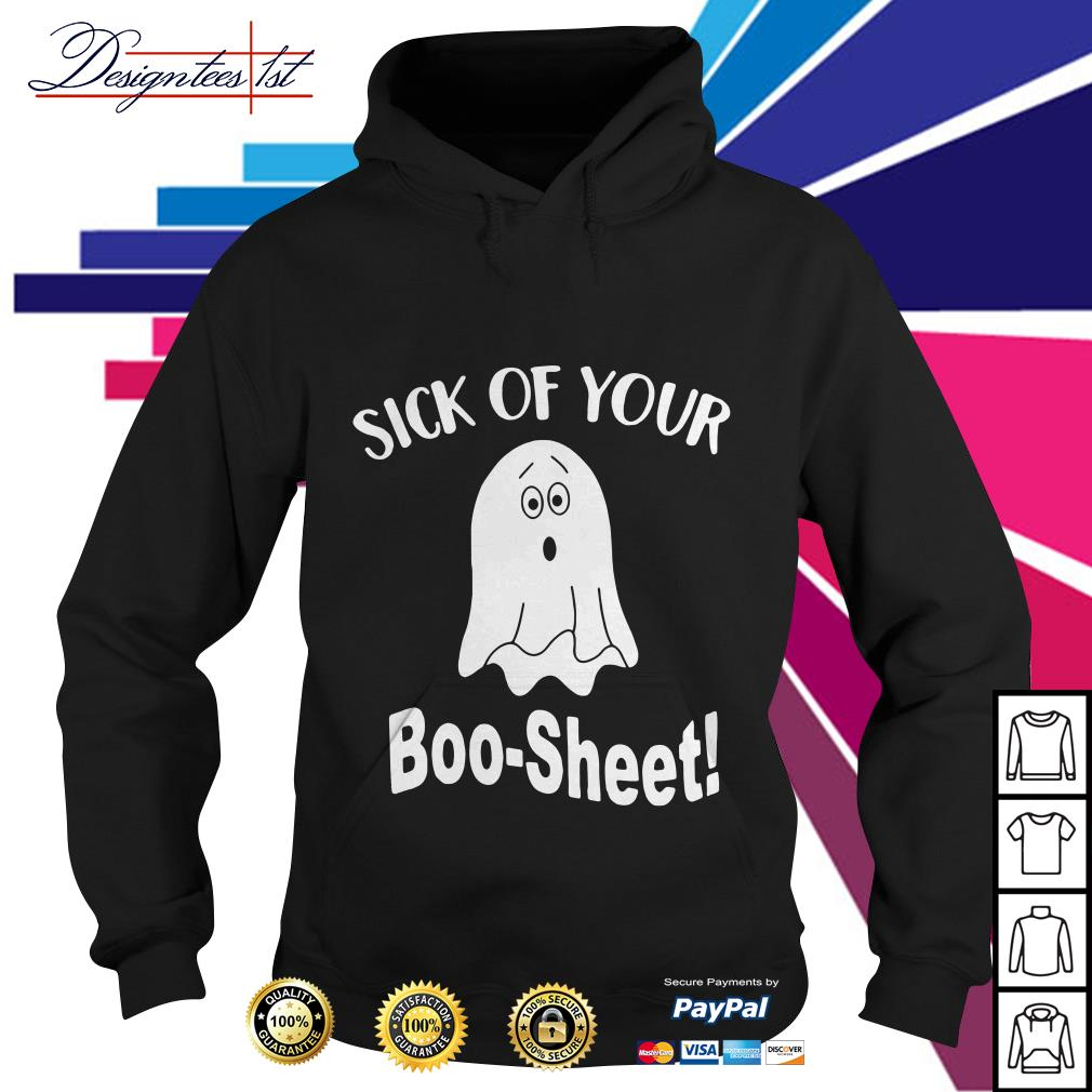 Ghost sick of your Boo-Sheet Hoodie