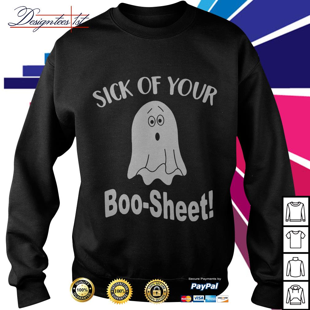Ghost sick of your Boo-Sheet Sweater