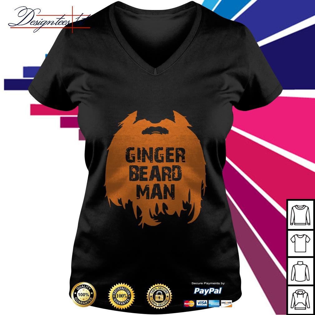 Ginger Beard man V-neck T-shirt