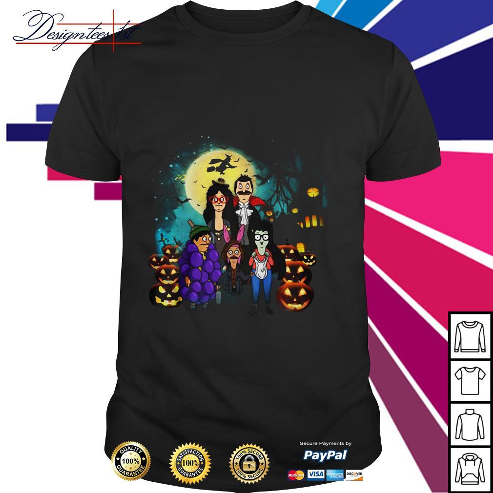 Halloween Bob's Burgers family shirt