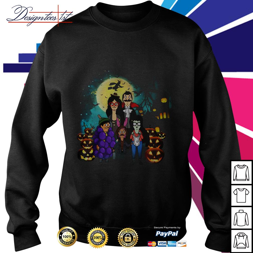 Halloween Bob's Burgers family Sweater