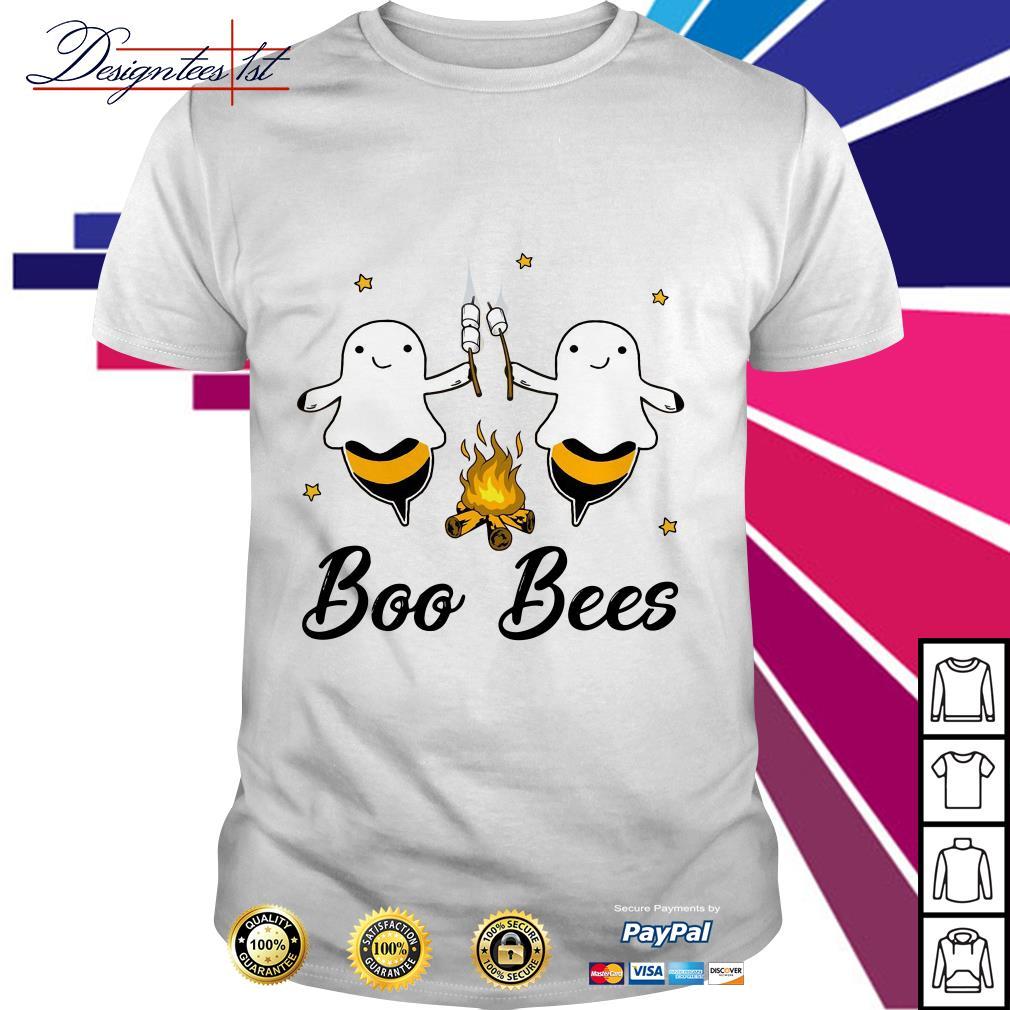 Halloween camping boo bees shirt