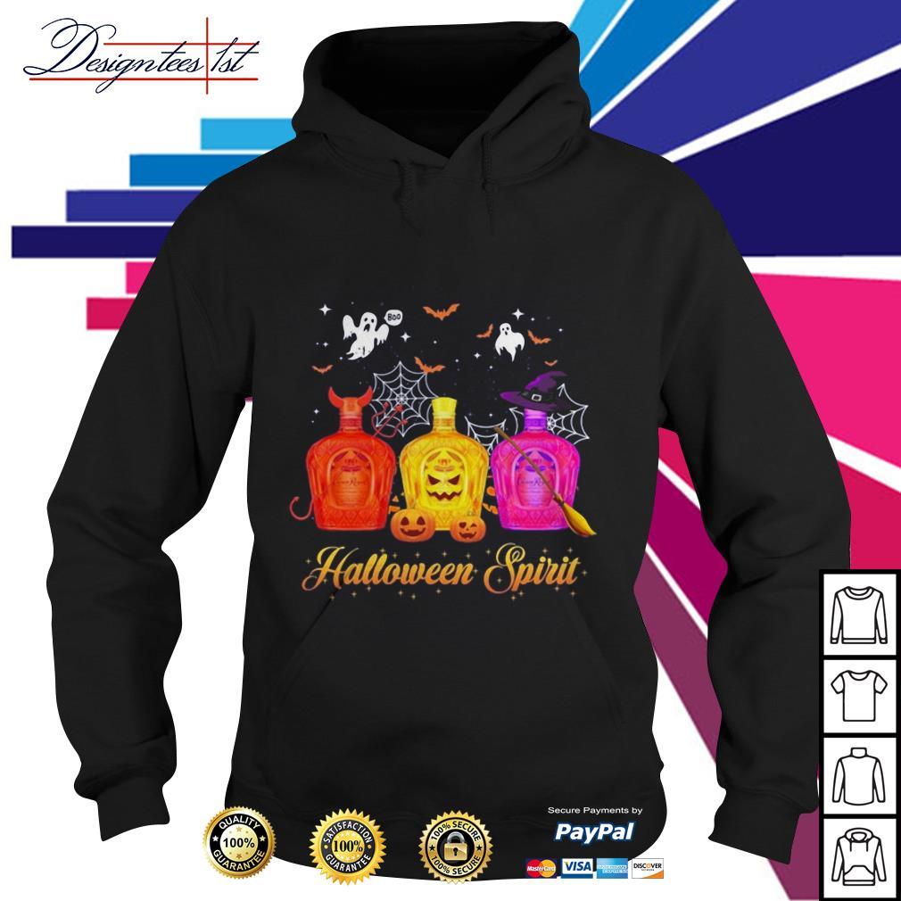Halloween Crown Royal spirit Hoodie