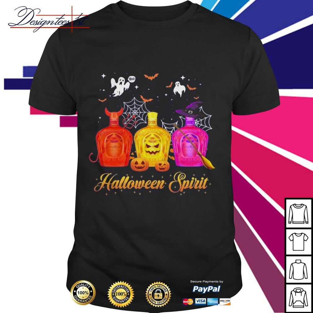 Halloween Crown Royal spirit shirt