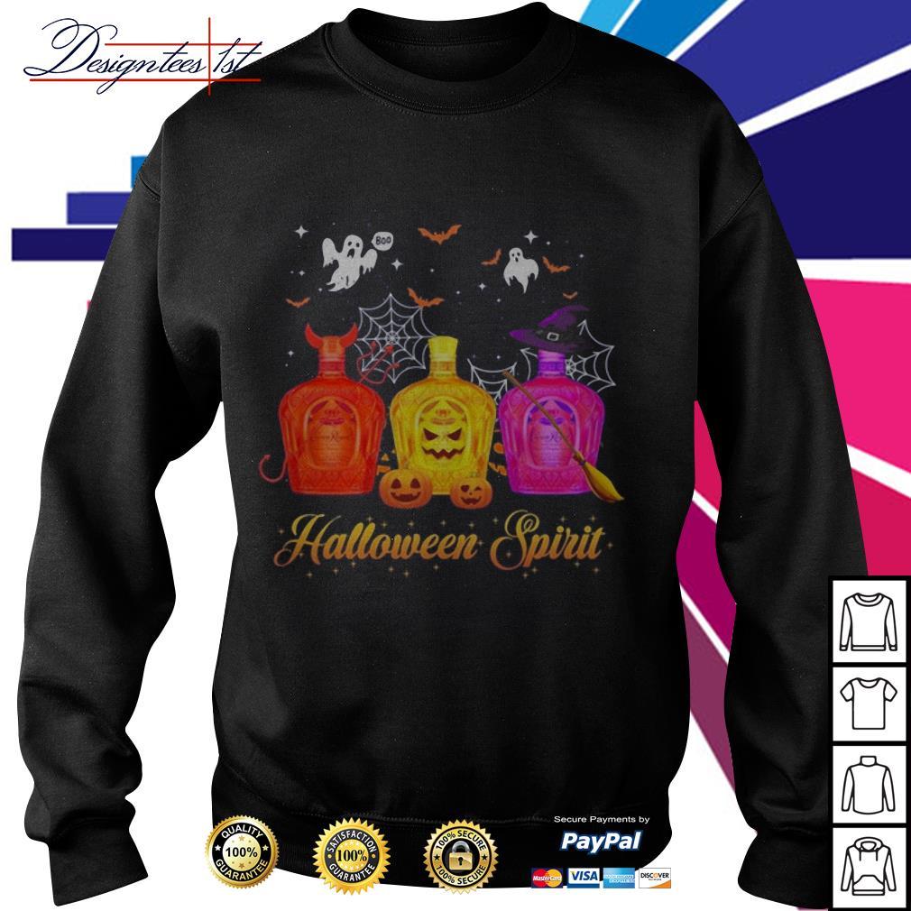 Halloween Crown Royal spirit Sweater