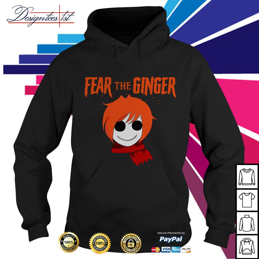 Halloween fear the ginger Hoodie