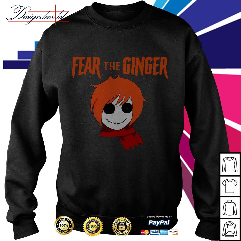 Halloween fear the ginger Sweater