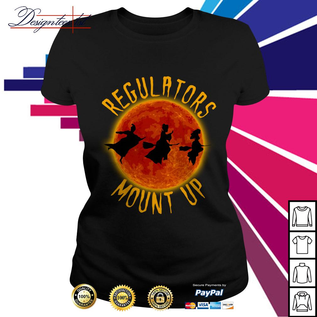 Halloween Hocus Pocus regulators mount up Ladies Tee