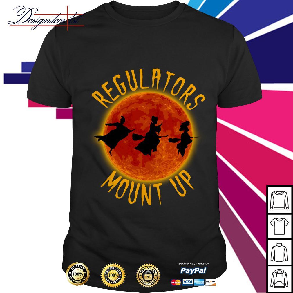 Halloween Hocus Pocus regulators mount up shirt