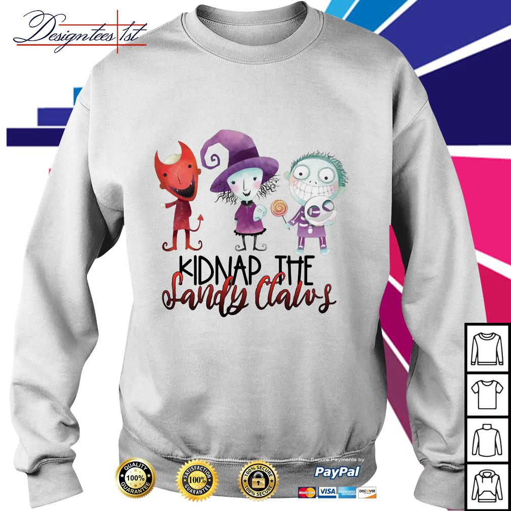 Halloween Kidnap the Sandy Claws Sweater
