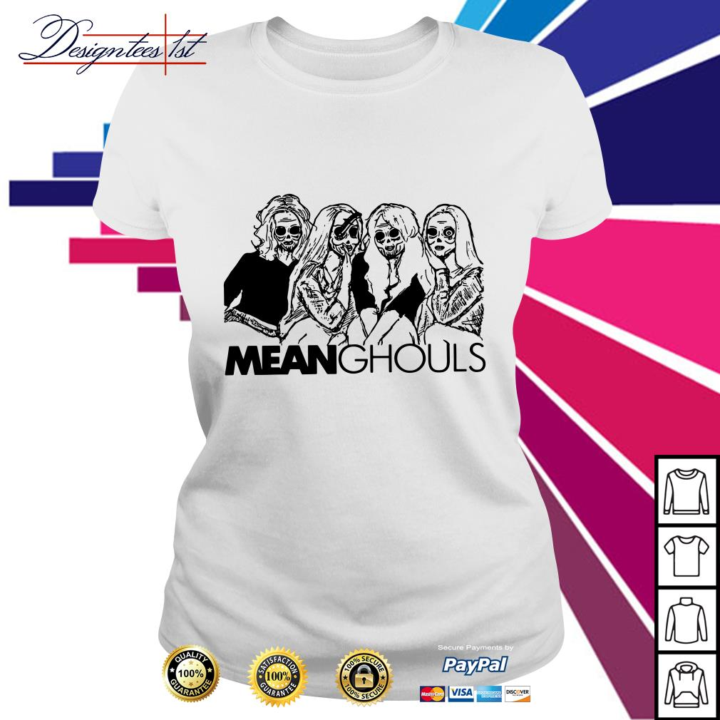 Halloween Mean Ghouls horror movie characters shirt