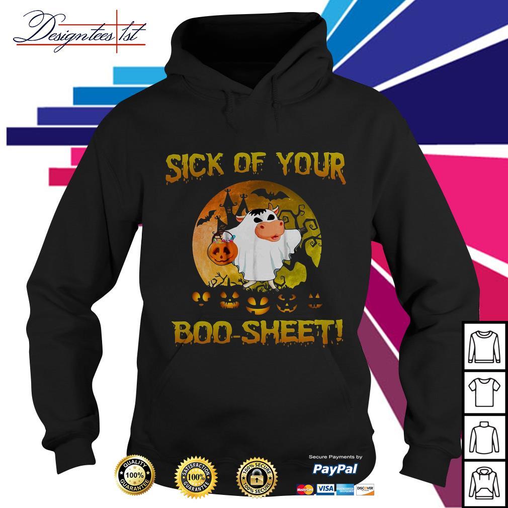 Halloween sick of your boo-sheet Hoodie