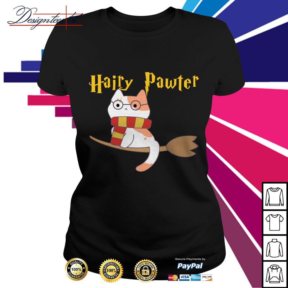 Harry Pawter cat Harry Potter Ladies Tee