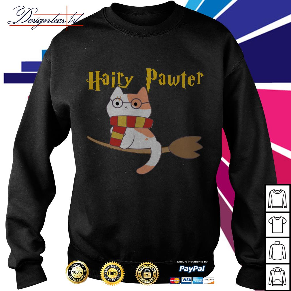 Harry Pawter cat Harry Potter Sweater